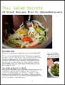 Thai Salad Secrets